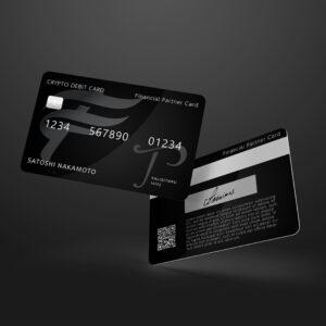 仮想通貨デビットカード Financial Partner Card